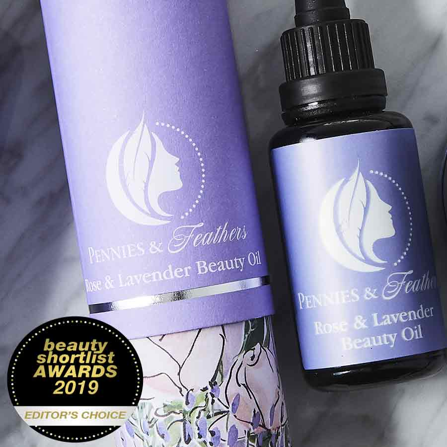 rose & lavender beauty oil